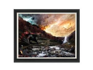 Dracarys (Game Of Thrones) - Canvas Limited Edition