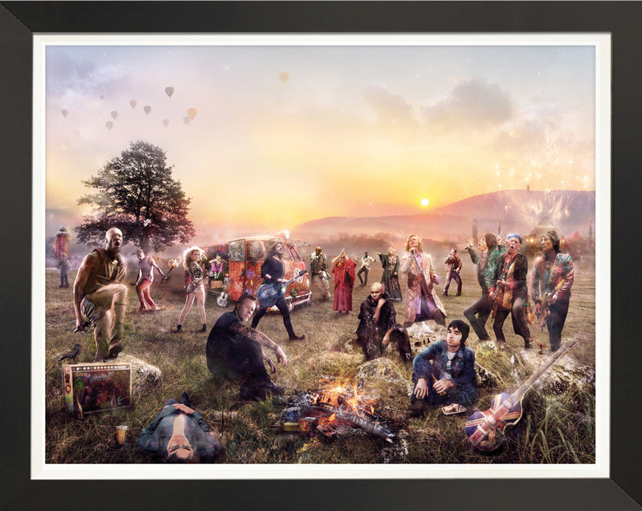 GLASTO! - Canvas Limited Edition