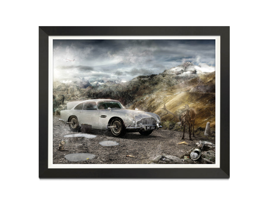 In Pursuit Of Gold (James Bond) - Canvas Limited Edition