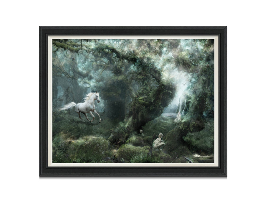 Not All Who Wander Are Lost (Lord Of the Rings) - Canvas Limited Edition
