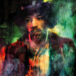 Am I Happy Or In Misery? (Jimi Hendrix) - Hand Embellished Limited Edition