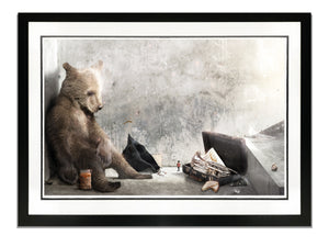 A Letter To Aunt Lucy (Paddington) - Hand Embellished Large Limited Edition