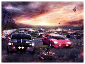 Petrolheads 2 - Canvas Limited Edition