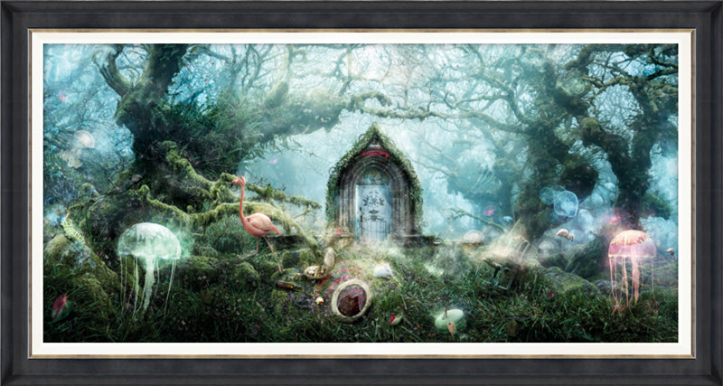 The Open Door (Alice In Wonderland) - Canvas Limited Edition