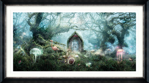 The Open Door (Alice In Wonderland) - Large Limited Edition