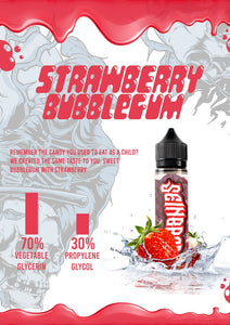 STRAWBERRY BUBBLE GUM BY SEINBROS
