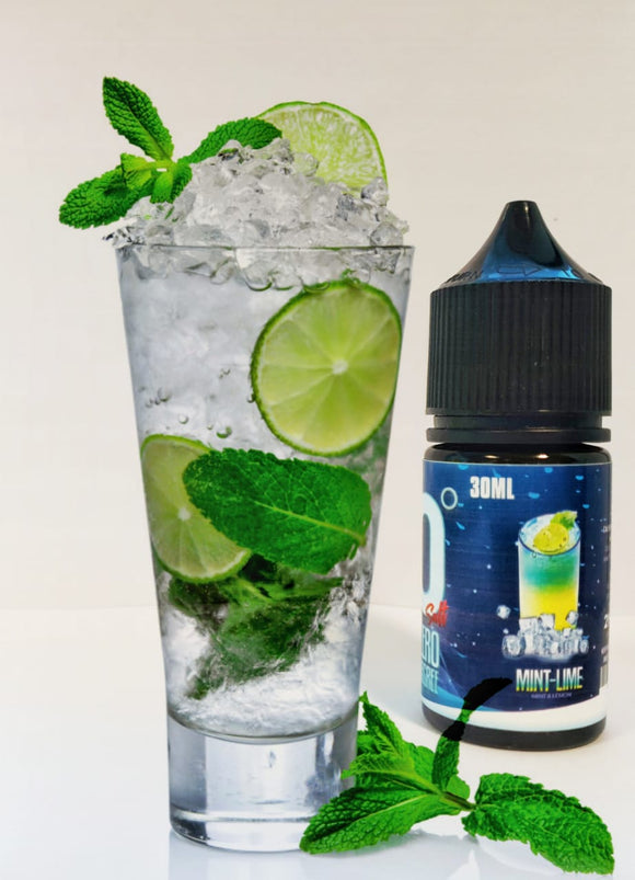 Zero Degree MINT LIME – SALTNIC