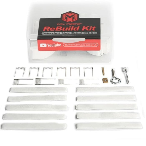 Coil Master ReBuild Kit for Geekvape Boost