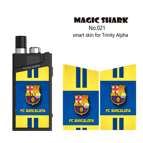 Skin Decal for SMOK TRINITY ALPHA (Decal Only, Device is Not Included)-Barcelona-VAYYIP