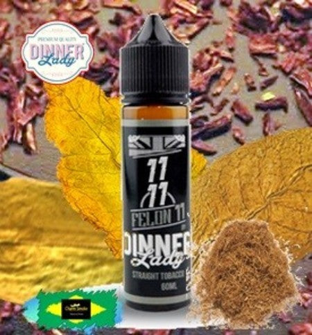 STRAIGHT TOBACCO HEAVEN 11 - DINNER LADY - 11/11 - 60ml