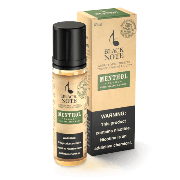 Black Note Menthol Blend 60ML