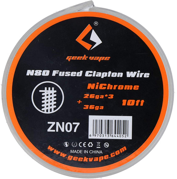 Geek Vape N80 Fused Clapton Wire ZN07