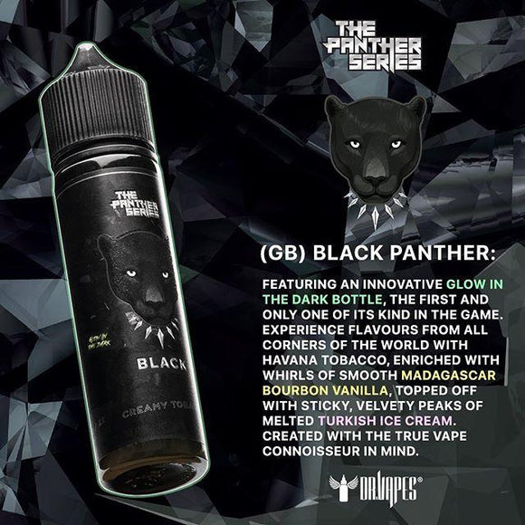 Dr Vapes - Black Panther