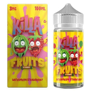 Killa Fruits - WATERMELON STRAWBERRY - 100ml