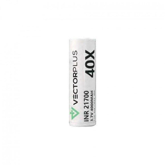 Vapx VECTORPLUS 40X INR 3.7V 21700 4000mAh Battery 1pc