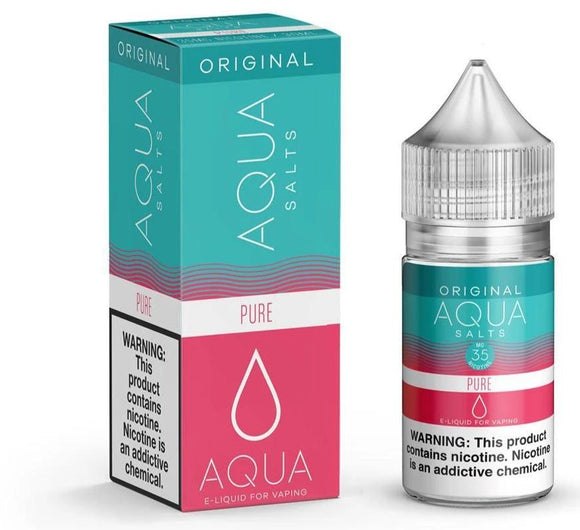 Aqua Salts - Pure Original - NIC Salts - 30ml