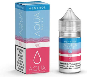 Aqua Salts - Pure Menthol - NIC Salts - 30ml