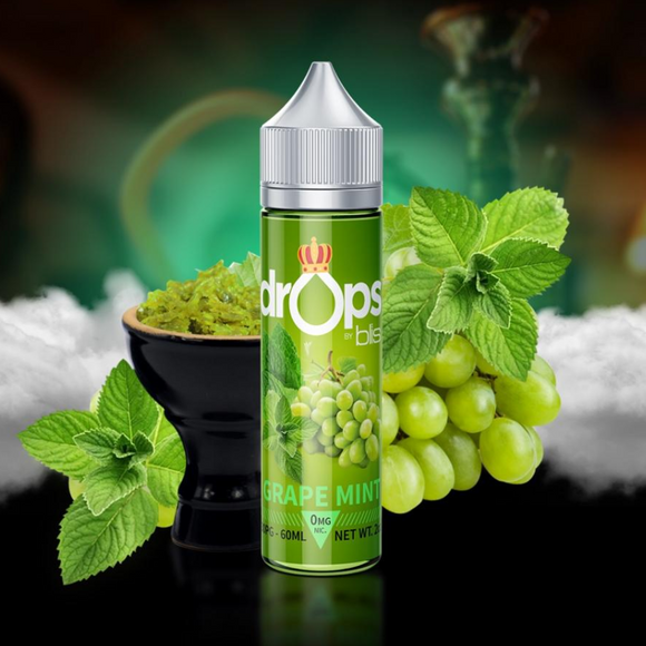 Drops By Blis Grape Mint(Shisha)-60ml - VAYYIP
