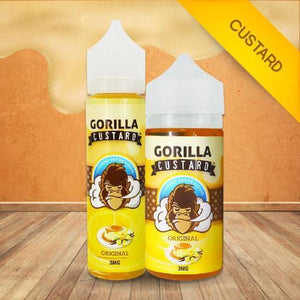 GORILLA CUSTARD ELIQUID - Original - VAYYIP