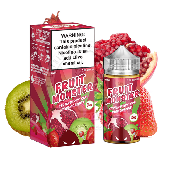 JAM MONSTER –Fruit Monster - Strawberry Kiwi Pomegranate | Jam Monster