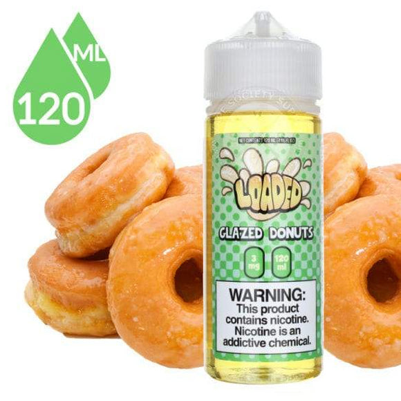 LOADED E-LIQUID - GLAZED DONUTS - vayyip