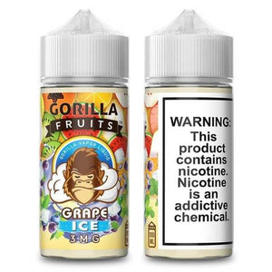 GORILLA FRUITS - GRAPE ICE 100ML