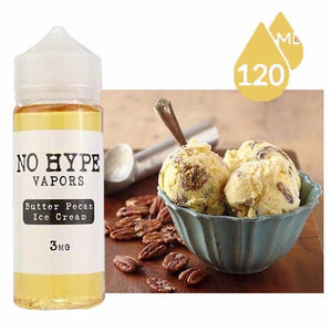 No Hype Vapors - Butter Pecan Ice-Cream - VAYYIP