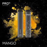 THE PRO CIG DISPOSABLE POD DEVICE - SWISS DESIGN-2% / 4 pieces Mango-VAYYIP