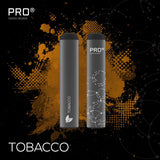 THE PRO CIG DISPOSABLE POD DEVICE - SWISS DESIGN-2% / 4 pieces Tobacco-VAYYIP