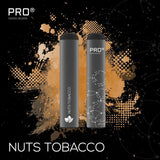 THE PRO CIG DISPOSABLE POD DEVICE - SWISS DESIGN-5% / 4 pieces Nuts Tobacco-VAYYIP