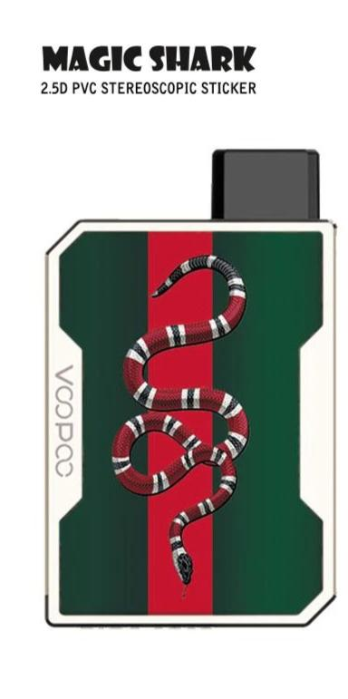 Skin Decal for VOOPOO DRAG NANO (Decal Only, Device is Not Included)-SNAKE-VAYYIP