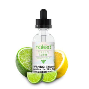 GREEN LEMON BY NAKED 100 FUSION 60ML
