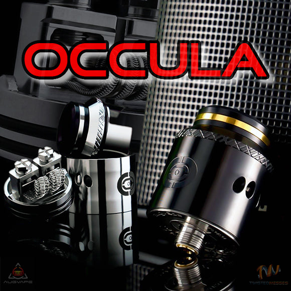OCCULA RDA by Twisted Messes and Augvape 24MM Tank