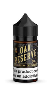 Oak Reserve Southern Custard Nicotine Salt 30ml