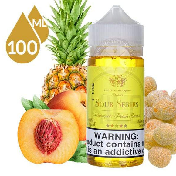 Pineapple Peach Sours by Kilo Premium E-Liquid - VAYYIP