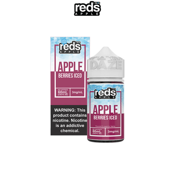 7 DAZE - RED'S APPLE - APPLE BERRIES ICED
