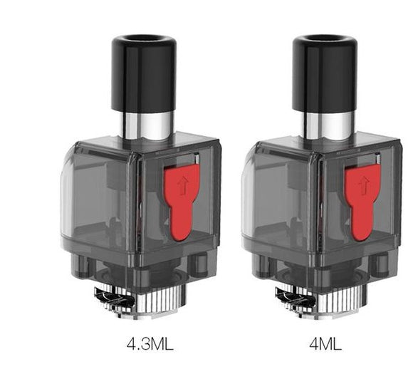 SMOK Fetch Pro Empty Pod 4ml/4.3ml 3pcs
