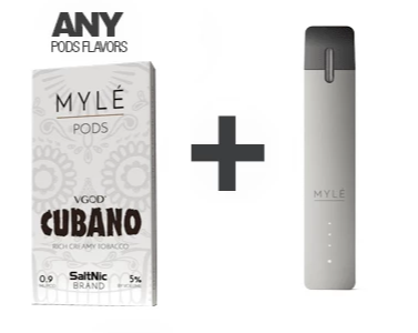 Bundle and Save: Myle Device and POD pack -