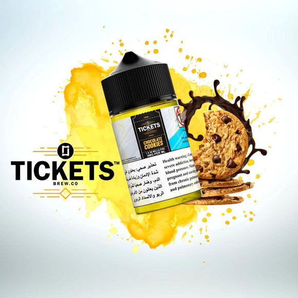 TICKETS BREW - CHOCOLATE COOKIES (ESMA Approved) - 50ml