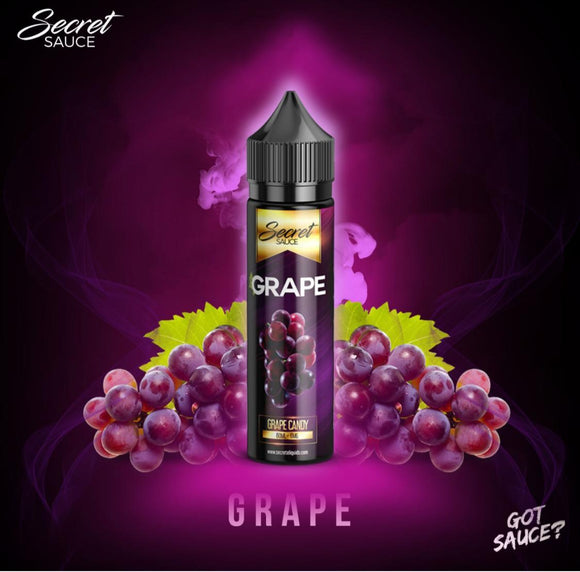GRAPE BY SECRET SAUCE E-LIQUIDS - 60ML - VAYYIP