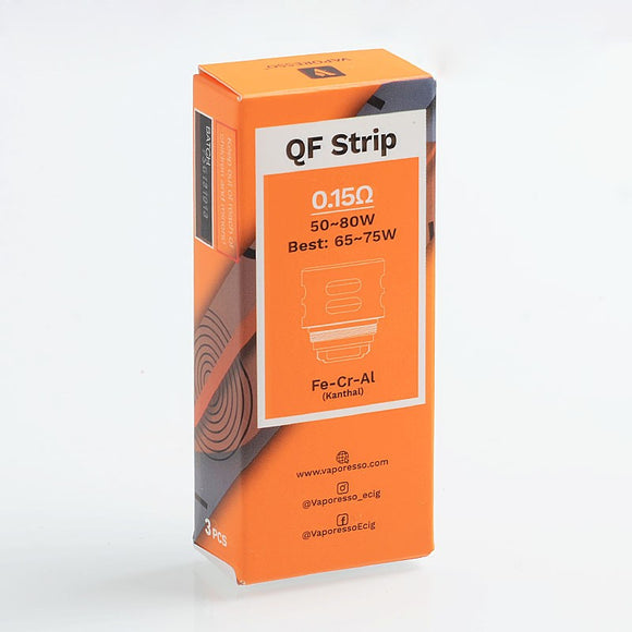 Vaporesso SKRR Replacement QF Strips Coil 3pcs - 0.15 ohm - VAYYIP