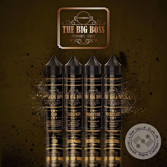 The big boss premium e liquid — Directory - VAYYIP