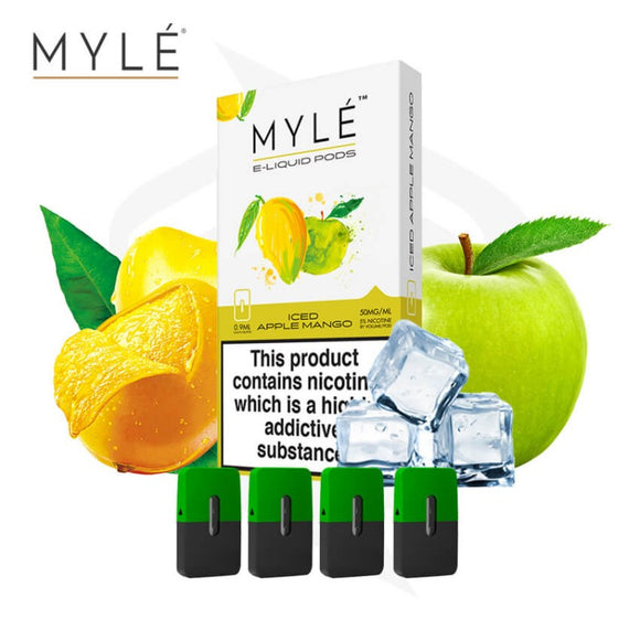 MYLE POD- ICED APPLE MANGO - VAYYIP