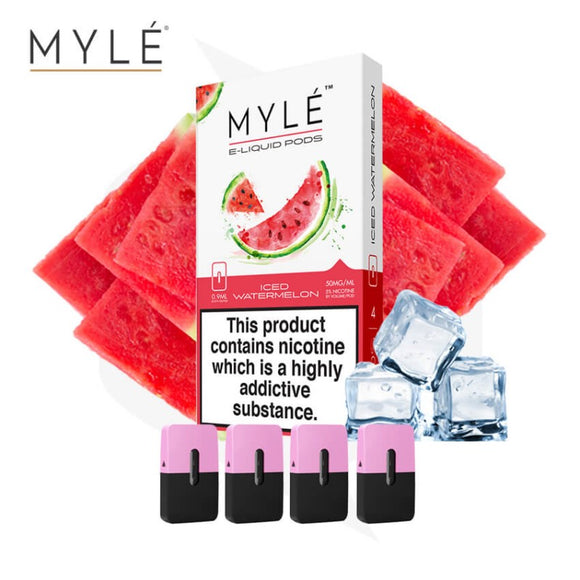 MYLE POD - Iced Watermelon-1 Pack-VAYYIP
