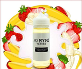 No Hype Vapors - Strawberry Banana Milkshake - VAYYIP
