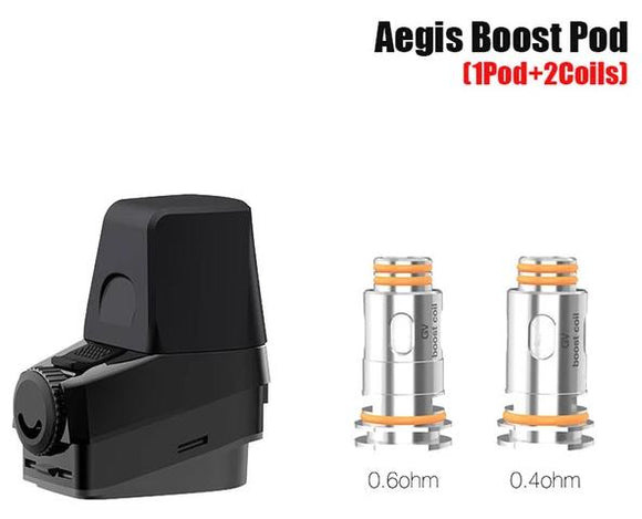 GEEKVAPE AEGIS BOOST REPLACEMENT POD - With Coils