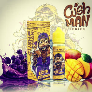 Nasty Juice - CUSH MAN MANGO GRAPE - VAYYIP