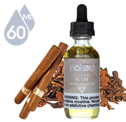 CUBAN BLEND BY NAKED 100 - 60ML - vayyip