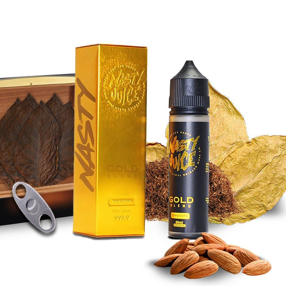 NASTY JUICE TOBACCO SERIES - GOLD BLEND