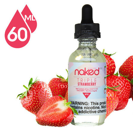 Triple Strawberry BY NAKED 100 - 60ML - vayyip